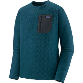 Patagonia R1 Air Sweat Col Ras-Du-Cou Homme, crater blue